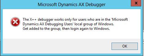 Debugging user group
