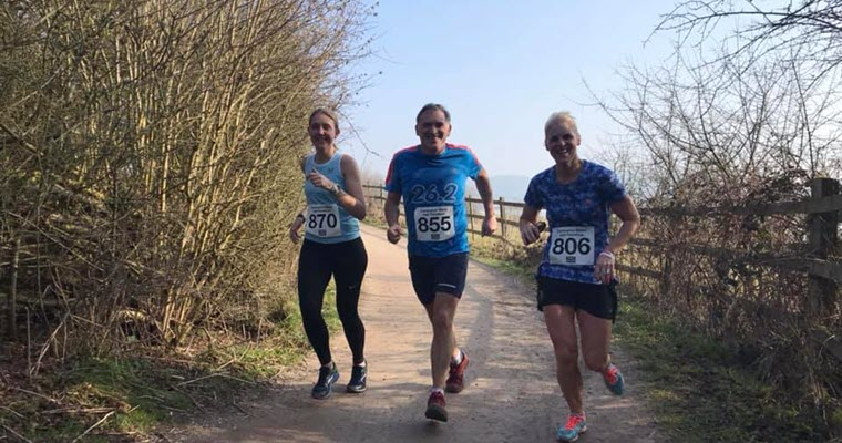 The Carsington water half marathon